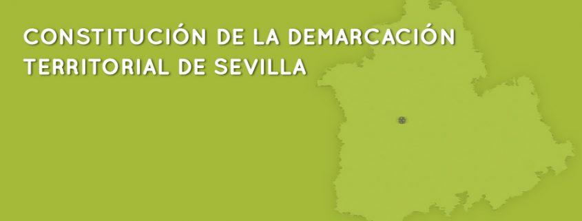 Constitución de la demarcación territorial de Sevilla del Colegio de Periodistas de Andalucía.