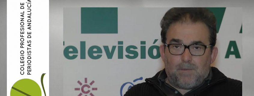 El decano del CPPA, Antonio Manfredi, durante la entrevista.