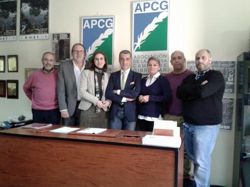 Primera Junta de Gobierno del Colegio Profesional de Periodistas de Andalucía en el Campo de Gibraltar.