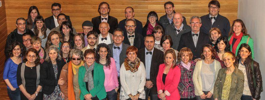 Fundadores del Colegio Profesional de Periodistas de La Rioja.