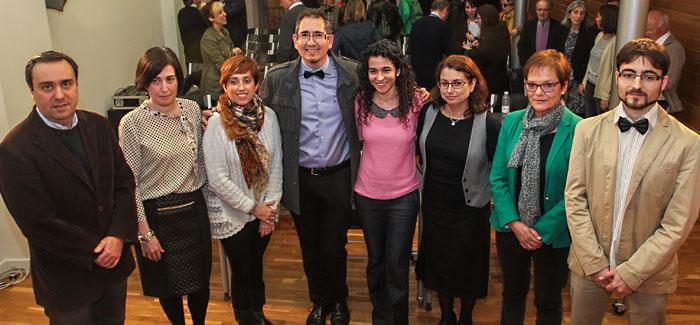 Junta de Gobierno del Colegio de Periodistas de La Rioja.