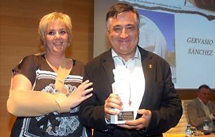 Covadonga Porrúa y Gervasio Sánchez.