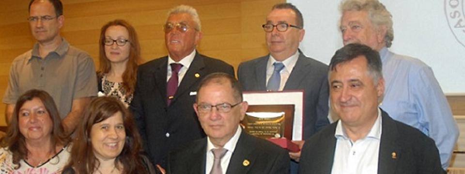 Galardonados en Almería por el Día de la Libertad de Prensa.