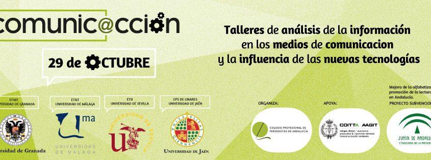 Proyecto Comunic@cción del Colegio de Periodistas de Andalucía para la promoción de la lectura de prensa.