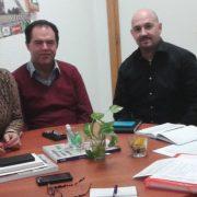 Miembros de la candidatura a la Demarcación Territorial del CPPA en Sevilla.