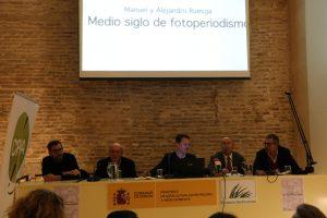 En la imagen, un instante de la intervención de los ponentes durante el encuentro.