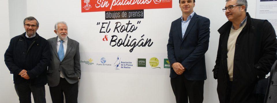 """La exposición """"Sin palabras"""" de El Roto y Ángel Boligán cierra en Sevilla el IV Encuentro Iberoamericano de Prensa"""