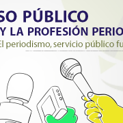 Compromiso público por el empleo y la profesión periodística