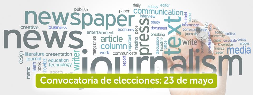 Proclamada por unanimidad la única candidatura a las elecciones del Colegio de Periodistas de Andalucía