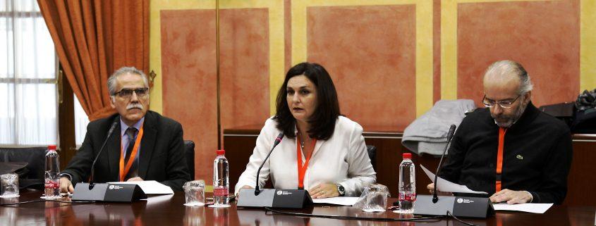Comparecencia del Colegio en la Comisión parlamentario que tramita la ley audiovisual de Andalucía