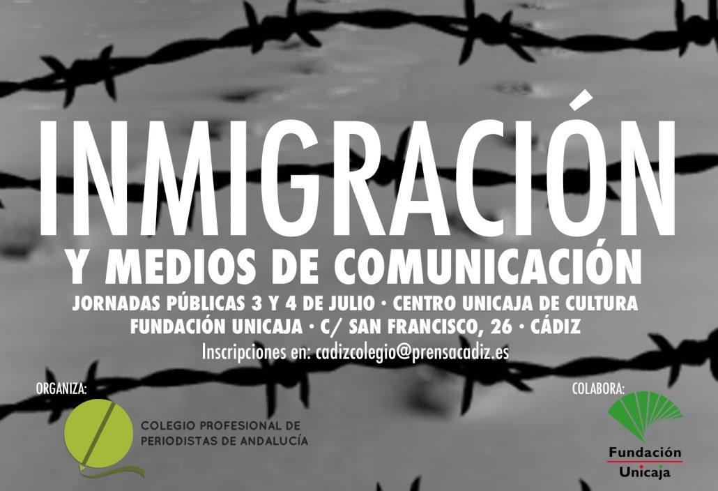 Jornadas 'Inmigración y medios de comunicación'