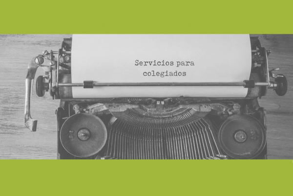 Servicios para colegiados