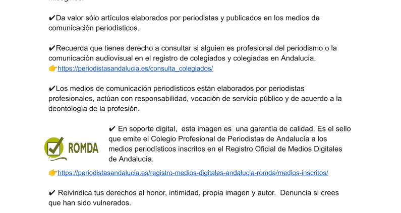 campaña-periodismo-coronavirus-fake news-romda