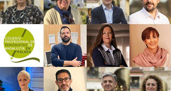 Teresa Santos, nueva presidenta del Colegio de Periodistas de Andalucía en Málaga